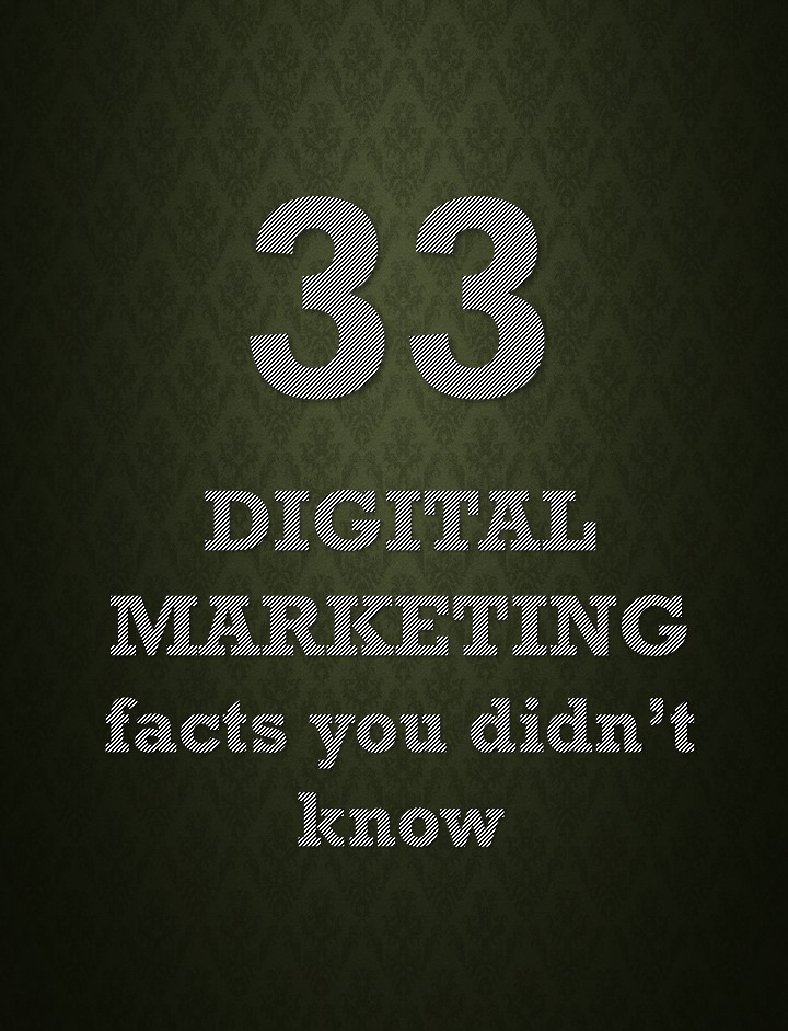[Infographic] 33 Interesting Digital Marketing Facts
