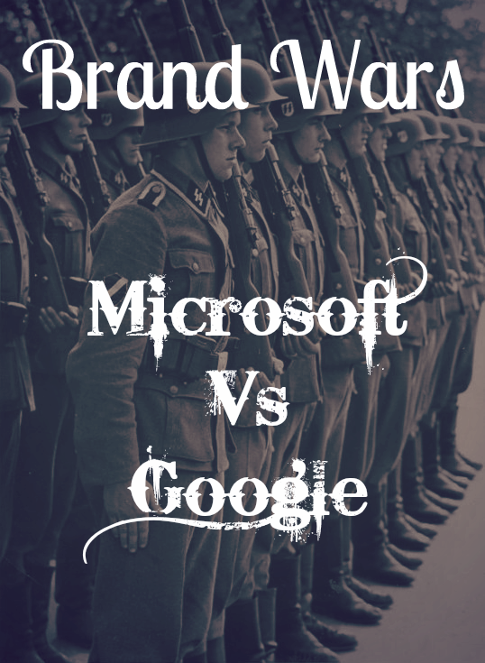 Most Notable Brand War #4 – Microsoft Vs. Google Chrome