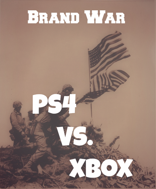 Most Notable Brand War #3 – PlayStation 4 Vs. Xbox One