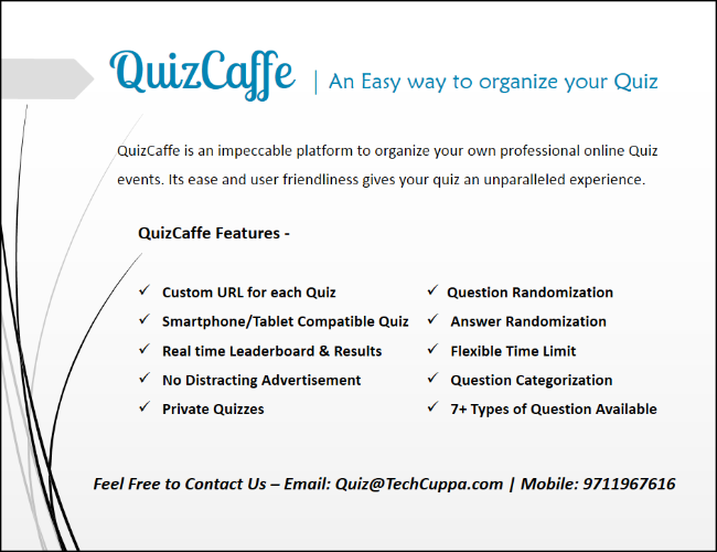 QuizCafe Plans